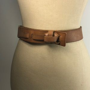 LOFT Genuine Leather xs/s Brown Leather BELT